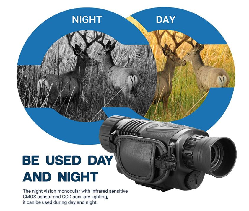 Battery Powered Security Night Camera Best Night Vision Scope For The Money
