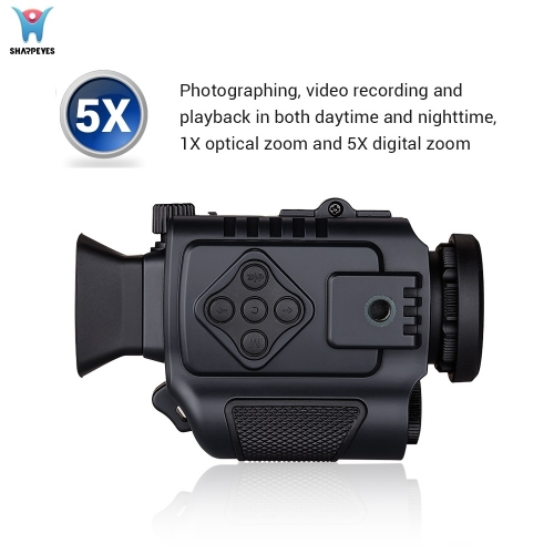 Mini Portable Smart Digital Night Vision Monocular P4-0118