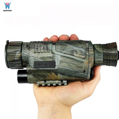 Military Hunting Infrared Digital Night Vision Monocular P15S-0540